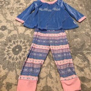 BITTY BABY AMERICAN GIRL KIDS PAJAMAS